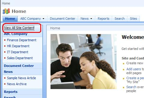 What is Contacts and How to create Contacts Sharepoint